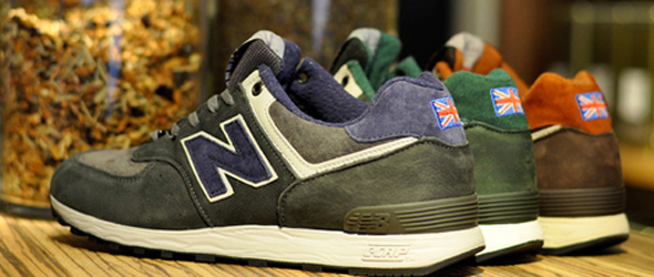 "New Balance Made in England 576 ""Tea Pack"""