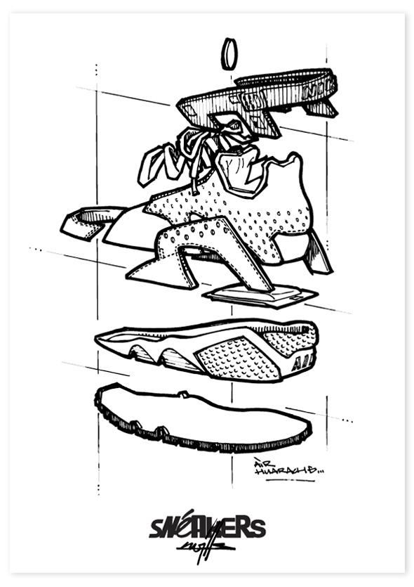 Sneakers_X_Kwills_Plakat_Huarache_1