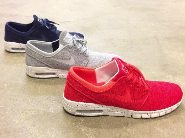 Nike Janoski Blau Orange