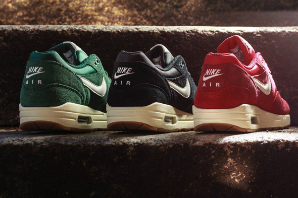 nike air max 1 suede pack