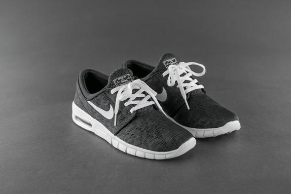 Nike Sb Stefan Janoski Max Schuh (Black White)