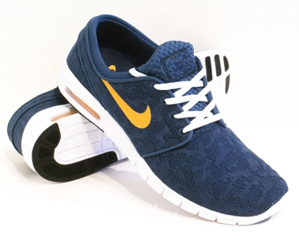 Nike Sb Janoski Max Blau Orange