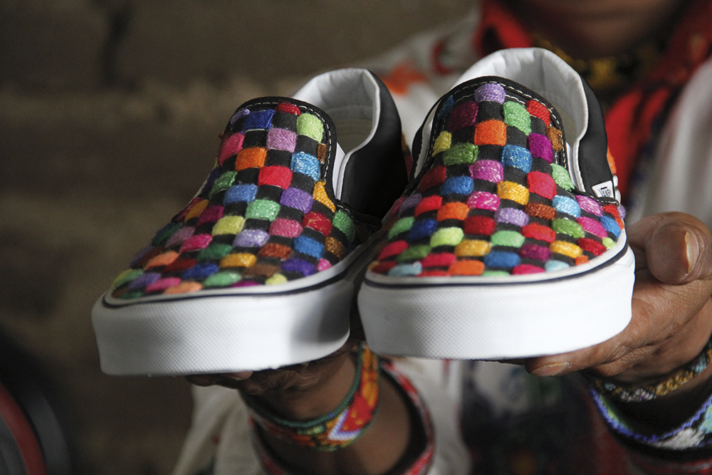 Vault by Vans x Huichol Slip-on