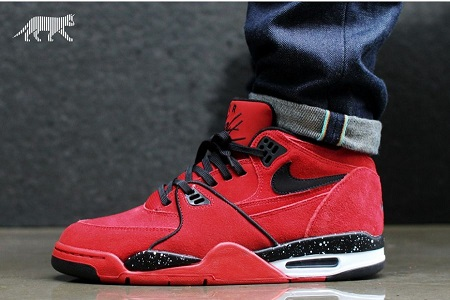 Nike Air Flight '89 – Gym Red/ Black-White Release Info