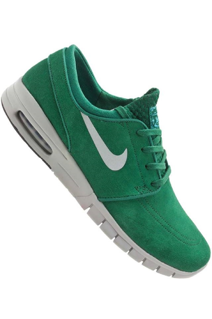 nike sb stefan janoski max l gorge green metallic. Black Bedroom Furniture Sets. Home Design Ideas