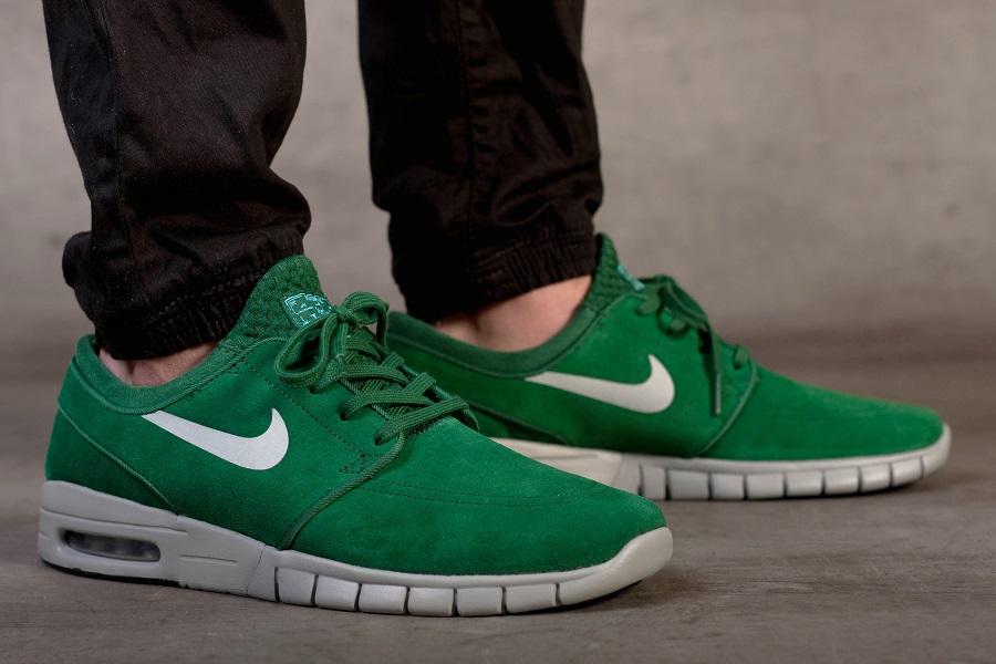 Nike Sb Stefan Janoski Máximo De Gamuza Verde Quebrada baratos extremadamente barato 100% garantizada Amazon aclaramiento Amazon salida venta barata confiable jsaaqnV