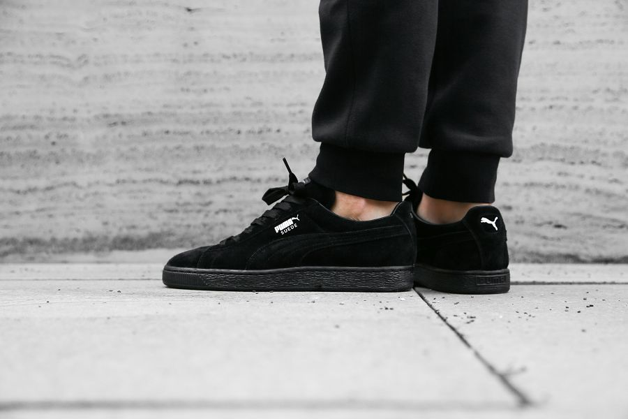 huge selection of 81088 49a99 Puma Suede Black Gum On Feet wearpointwindfarm.co.uk