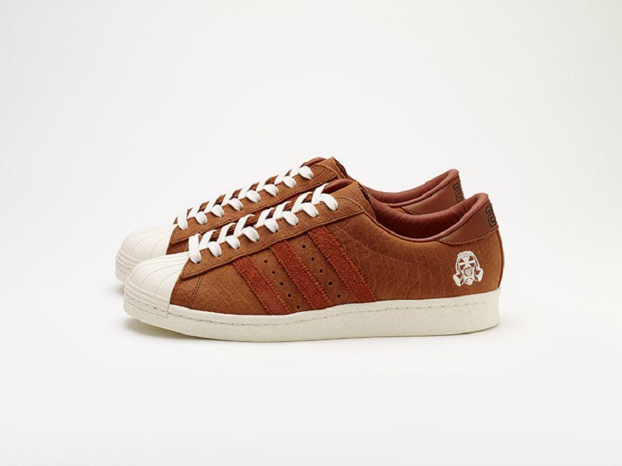 Adidas Superstar Veloursleder