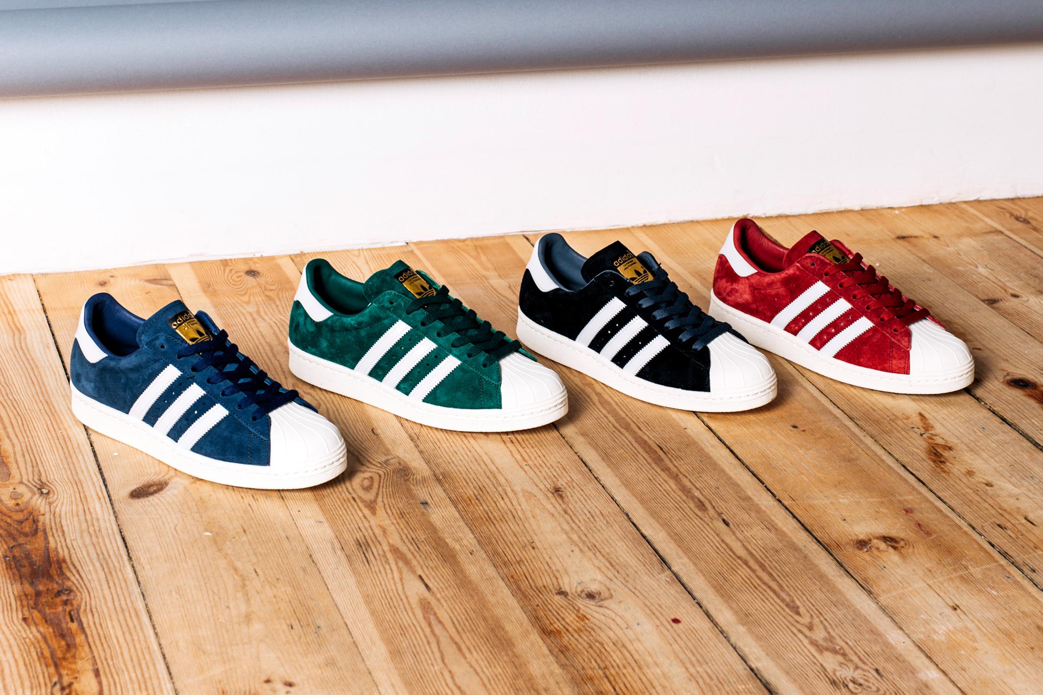 dfcvj adidas Originals Superstar Suede Classics Pack � Sneakers Magazine