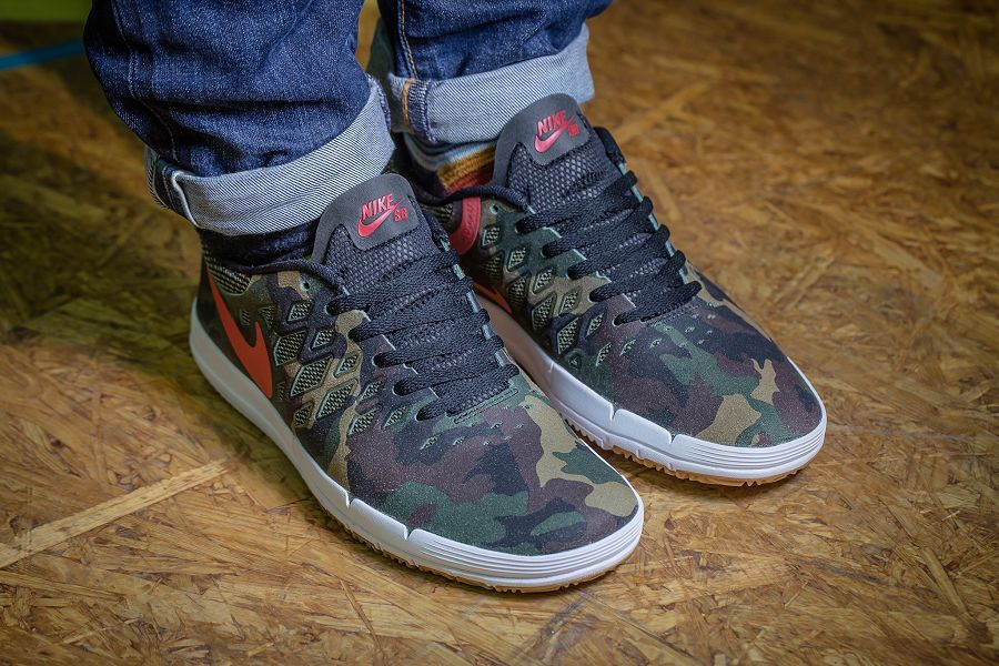 nike sb free qs rose city fortress green gym red black. Black Bedroom Furniture Sets. Home Design Ideas
