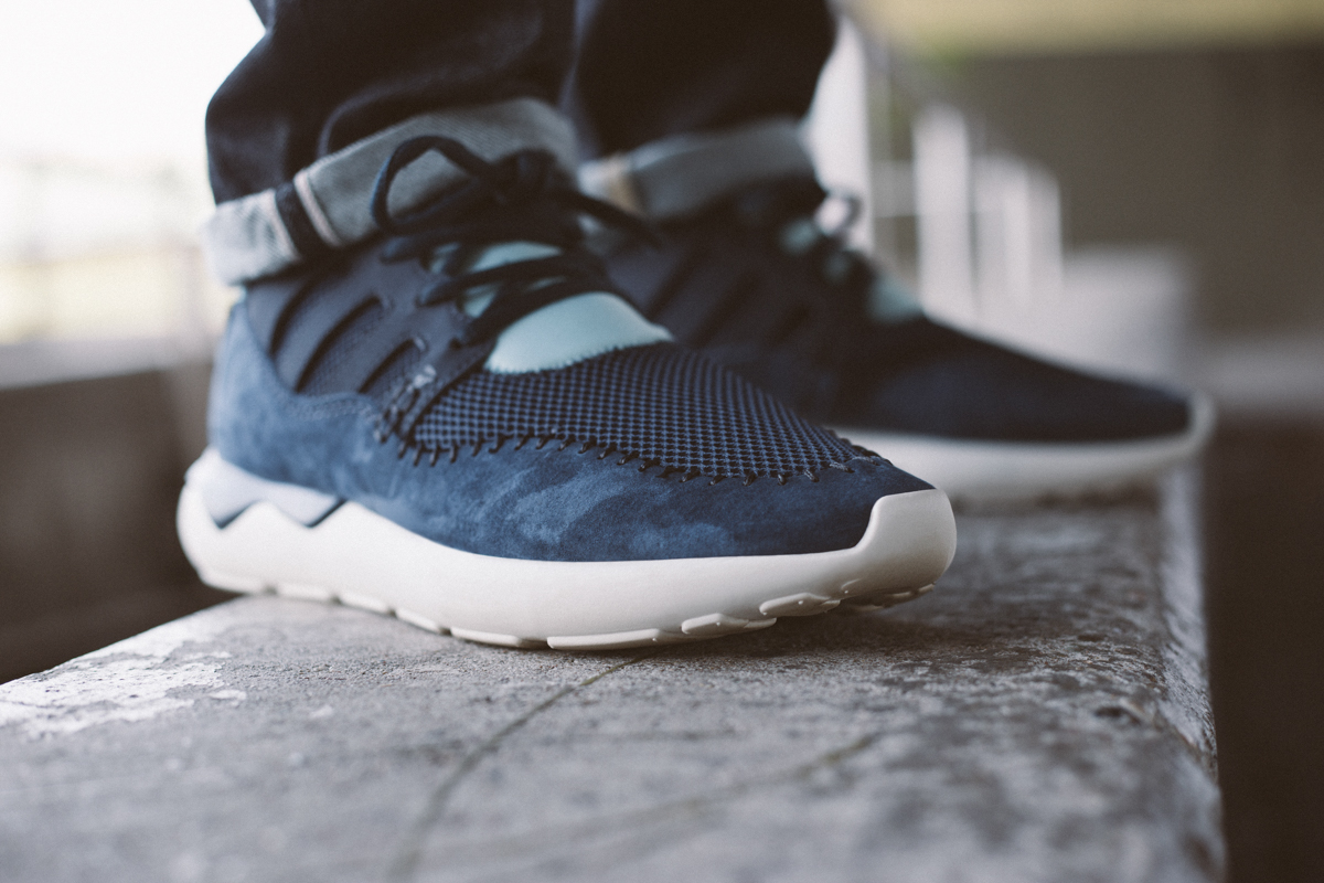 The adidas Originals Tubular Runner Primeknit 'Snake' in Carbon