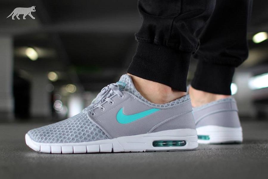 Nike Sb Janoski Max Grey Release