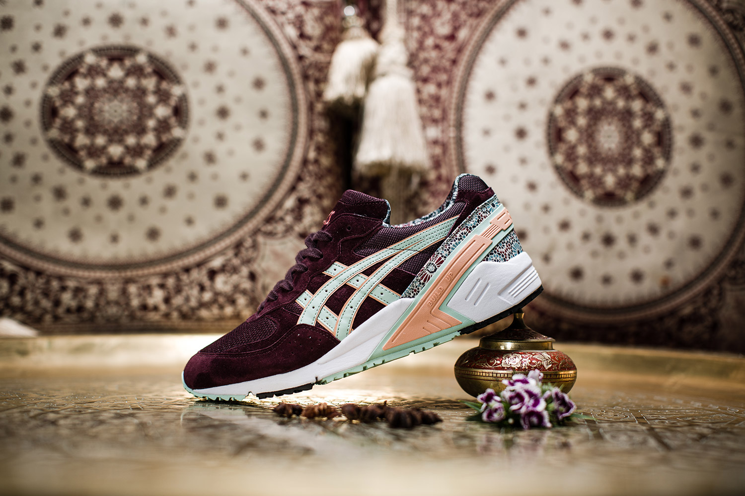 asics tiger gel desert rose