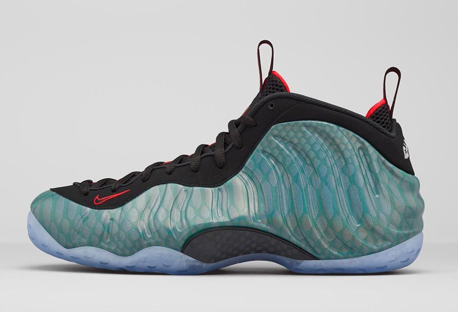 nike air foamposite one gone fishing release infonike