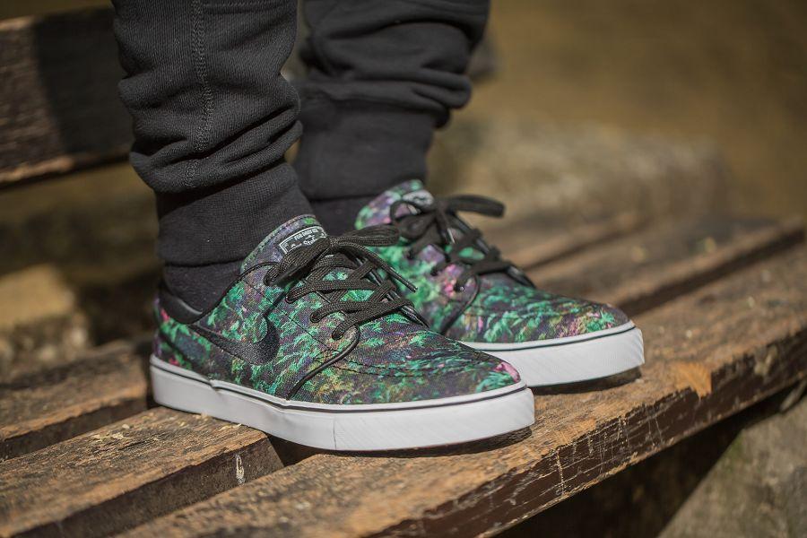 vente profiter à la mode Nike Sb Toile Zoom Stefan Janoski Feuilles De Palmier Premium zoIKd