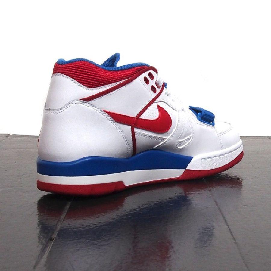 85460b19f7da ... k-air-alpha-force-ii-white-royal-76ers- Nike ...