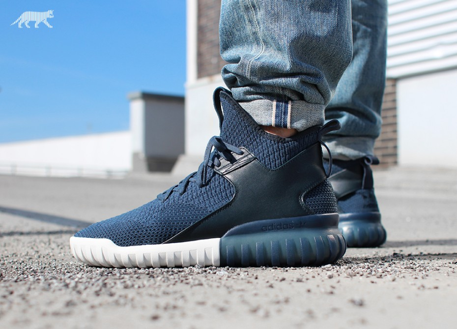 Adidas Tubular Primeknit On Feet