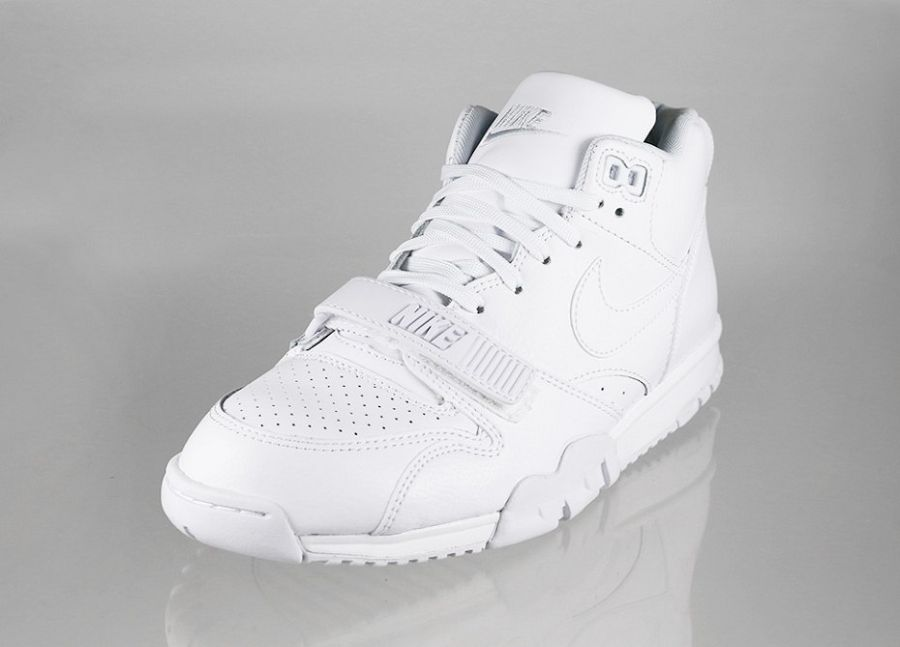 reputable site 5ecb8 3e2d3 Nike Air Trainer 1 Mid 8211 White  White-Pure Platinum Release Info lovely