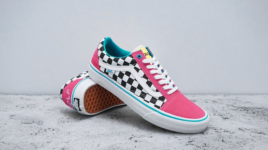 a67fd2d92723 Vans Pro Classics x Golf Wang Old Skool Pro Collection chic ...