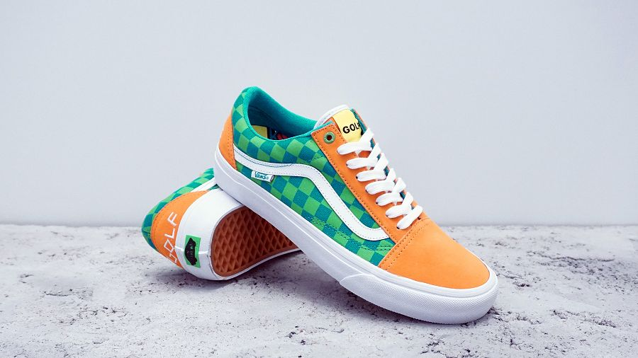 af60180792a8c5 Vans Pro Classics x Golf Wang Old Skool Pro Collection chic ...