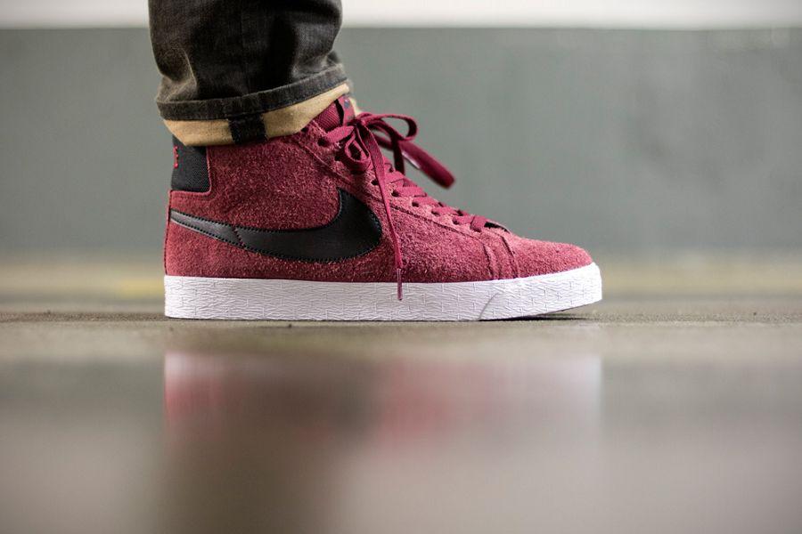 Nike Équipe Se Premium De Blazer Rouge