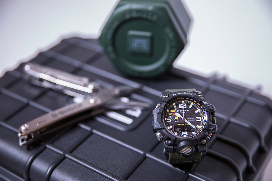 g shock launches limited mudmaster sneakers magazine. Black Bedroom Furniture Sets. Home Design Ideas