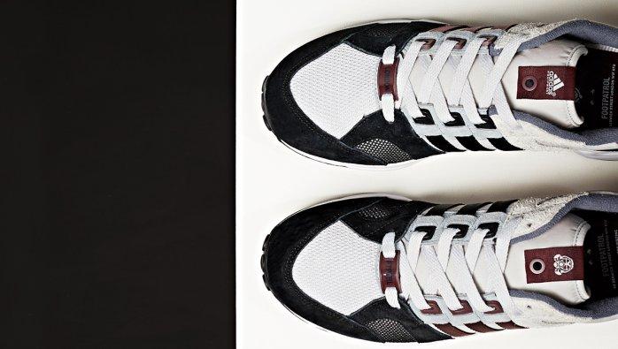 wholesale dealer b73ef 8d6f1 new adidas Consortium EQT Running Cushion 93 x Foot Patrol