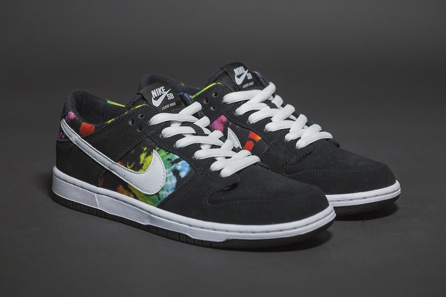 """Tie Dye Treatment For The Nike Dunk Low SB """"Ishod Wair"""""""