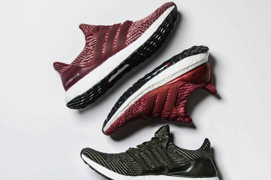 Discount Ultra Boost 3.0 Burgundy White Online for Sale Kyle's