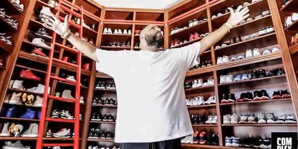 [:en]Throwback: DJ Khaled's Sneaker Closet[:]