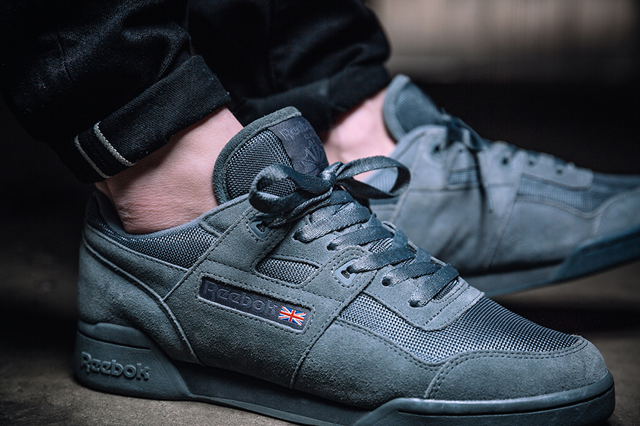 e48d23ba420f Reebok Classic Leather SM  Urban Descent  (Alloy   Ash Grey   White) And  here we have the Workout Plus in all three colorways  ...