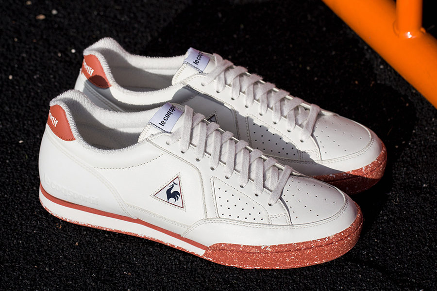 """The """"clay"""" colorway on the full-grain leather shoe is inspired by the  annual French Open tennis tournament, traditionally held on a clay court  every May."""