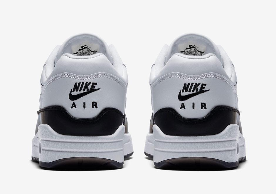"... Nike Air Max 1 Premium SC ""Jewel"" WhiteBlack Color BlackWhite Style  Code 918354- ..."