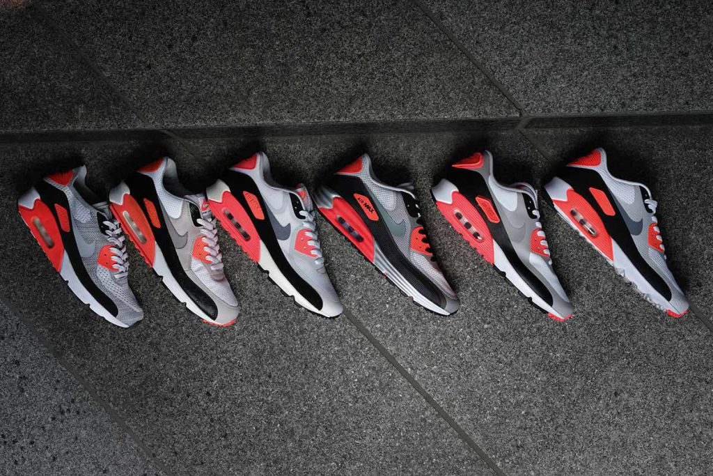 Air Max 90 Infrared collection