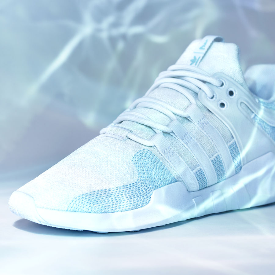 adidas Originals by Parley – EQT Support ADV CK (White - toebox)