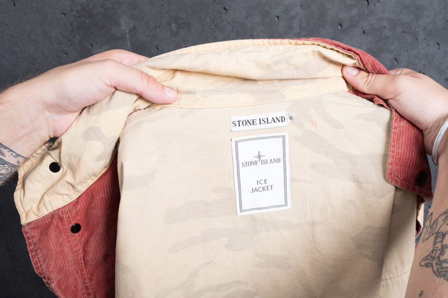 Adrian Bianco Biancissimo - Stone Island Vintage Ice Jacket