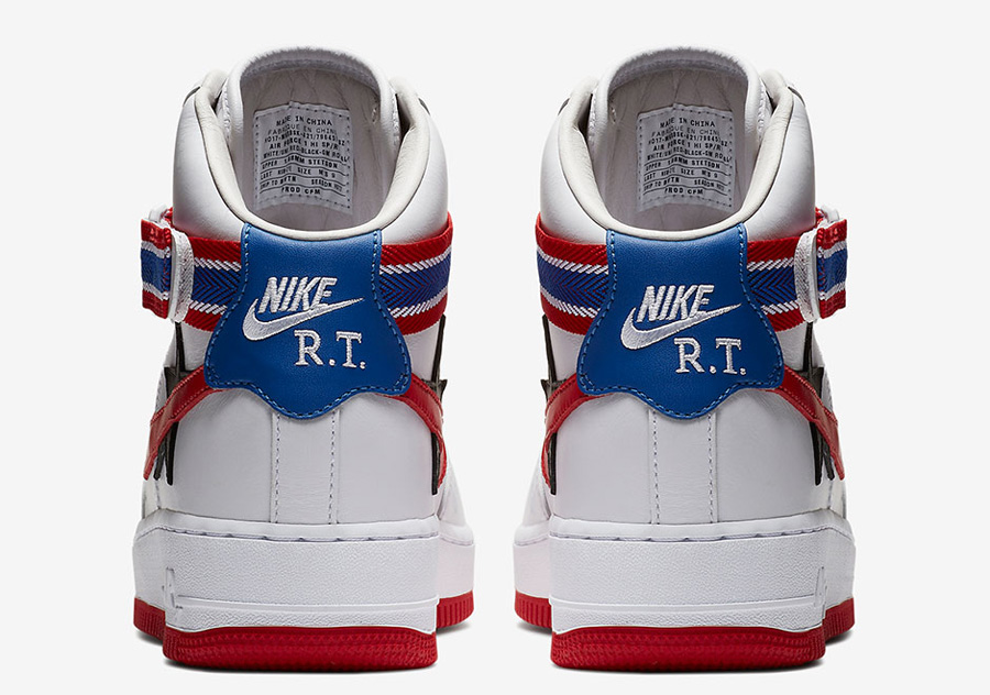 Riccardo Tisci x Nike Lab Victorious Minotaurs - Nike Air Force 1 White (Back)