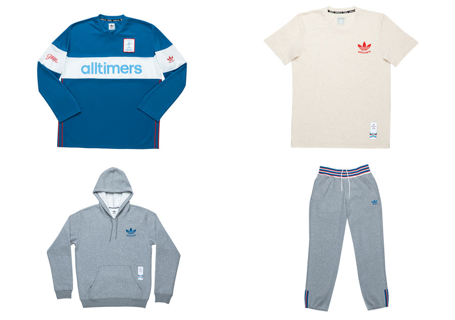 Alltimers x adidas Skateboarding Collection - Apparel