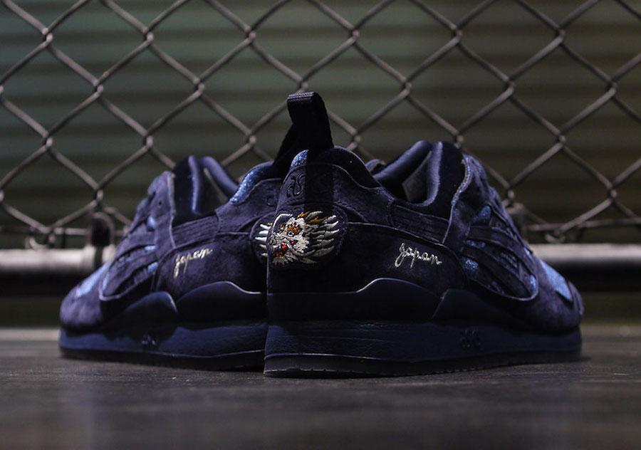 Sneaker Releases in October 2017 - BEAMS x mita Sneakers x ASICS GEL-LYTE III Souvenir Jacket Navy