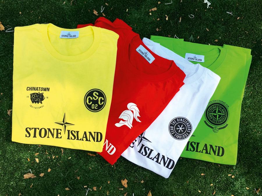 Chinatown Soccer Club - Stone Island Shirts (2016)