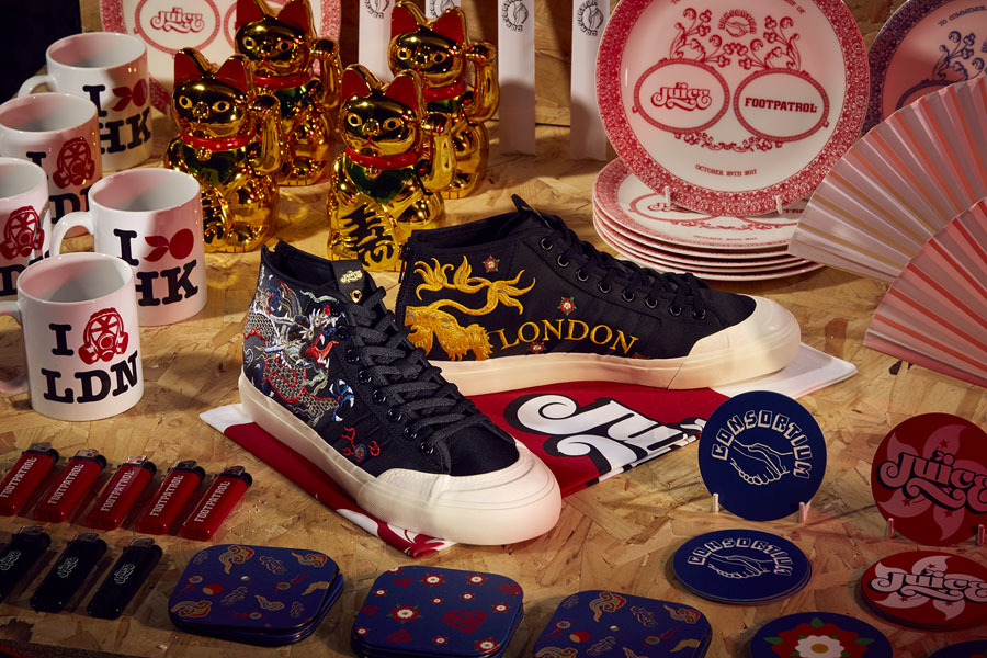 Juice x Footpatrol adidas Consortium Sneaker Exchange - Matchcourt Mid