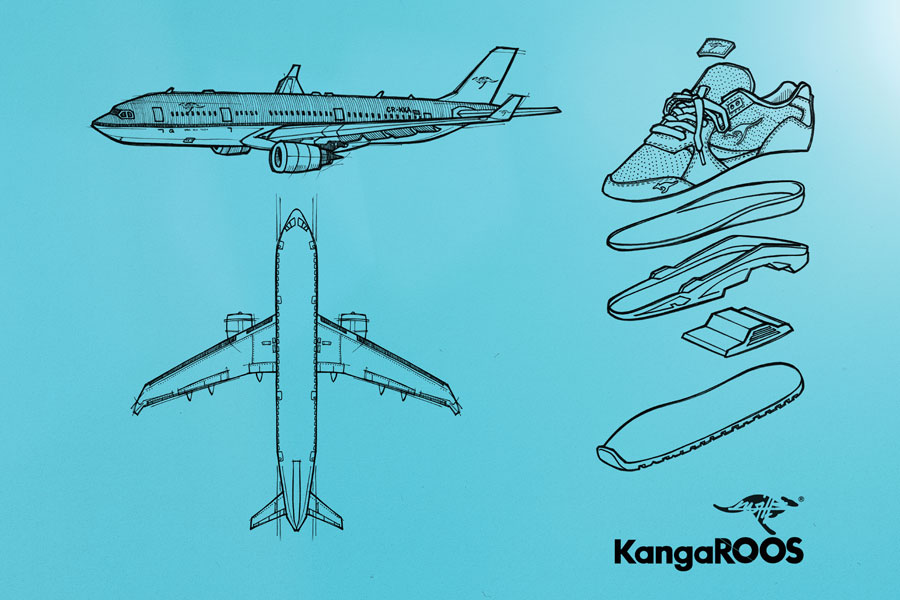 KWILLS x KangaROOS The Flying Dutchman (KLM Airline)