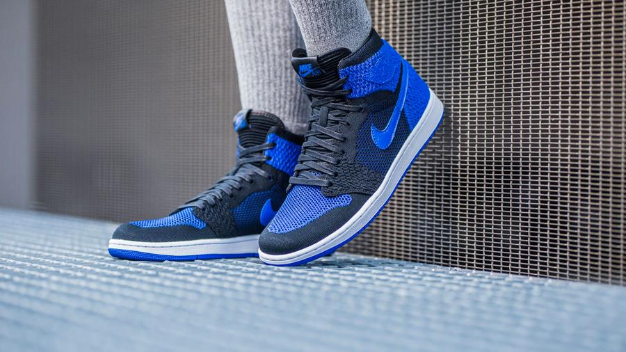 Sneaker Releases in October 2017 - Nike air Jordan 1 Retro High Flyknit Game Royal