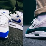 Nike Air Max 1 Game Royal and Atomic Teal