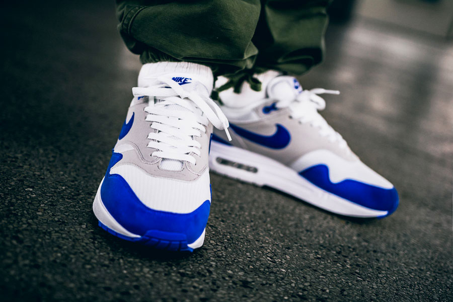Nike Air Max 1 OG Anniversary Game Royal (Front)