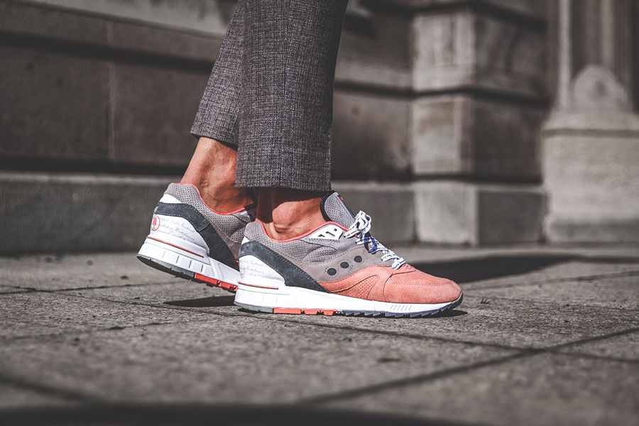 Afew x Saucony Shadow Master 5000 'Goethe' - On feet (Side)