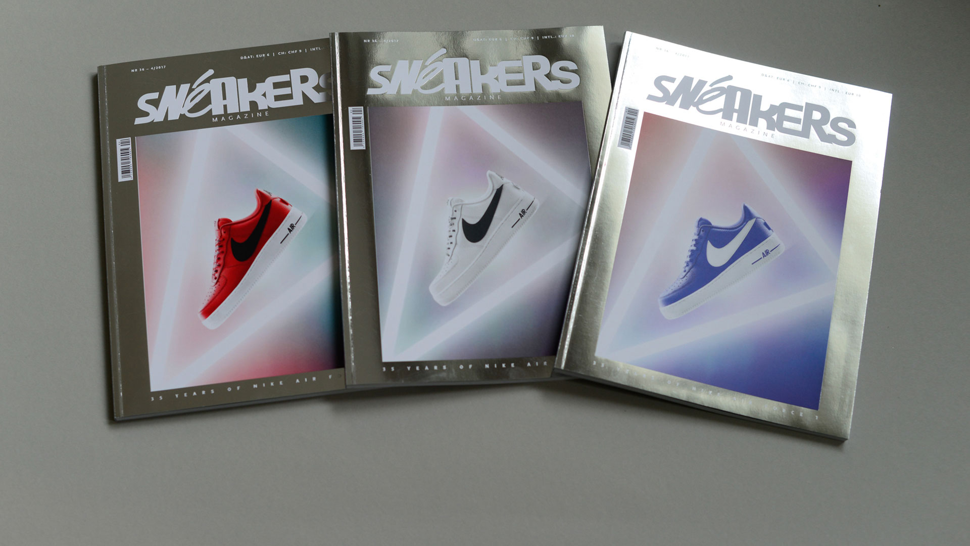 Sneakers Magazine #36 2017 - Slider