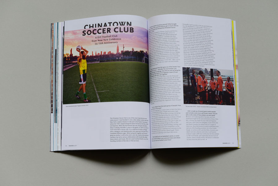 Sneakers Magazine #36 2017 - Chinatown Soccer Club