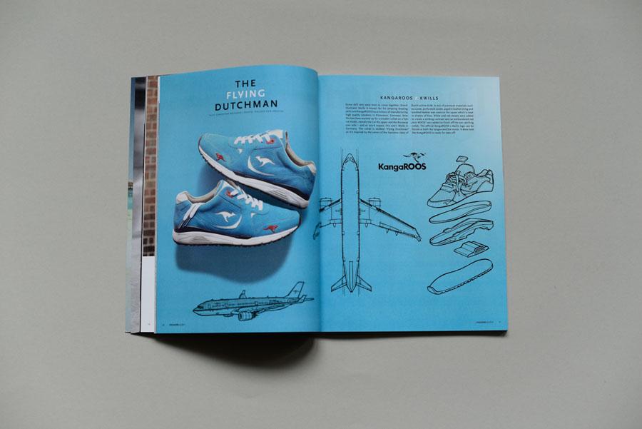 Sneakers Magazine #36 2017 - Kangaroos x KWILLS