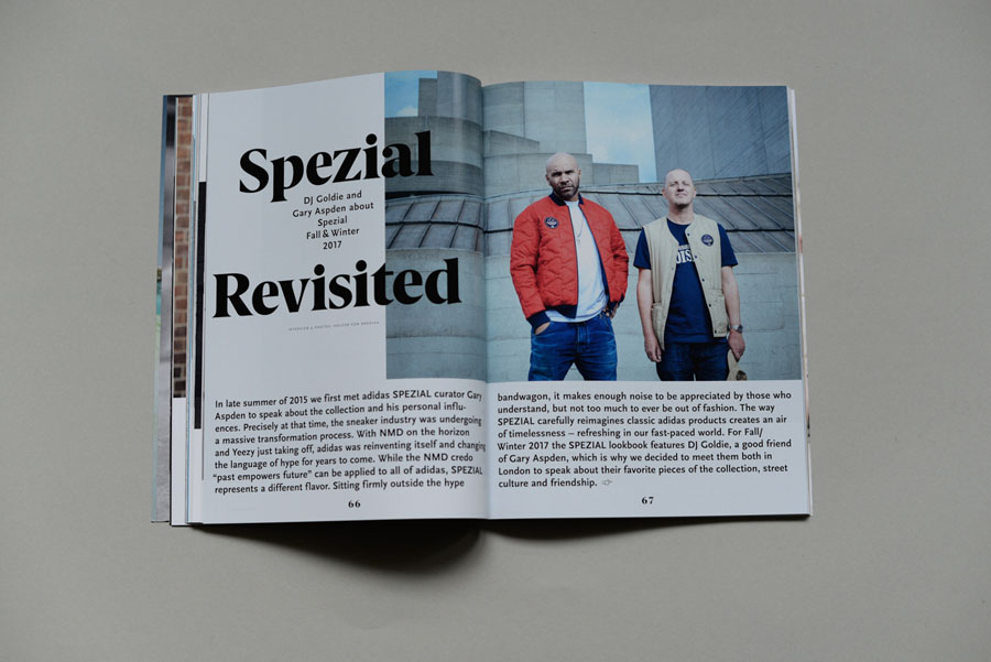 Sneakers Magazine #36 2017 - adidas Spezial Revisited